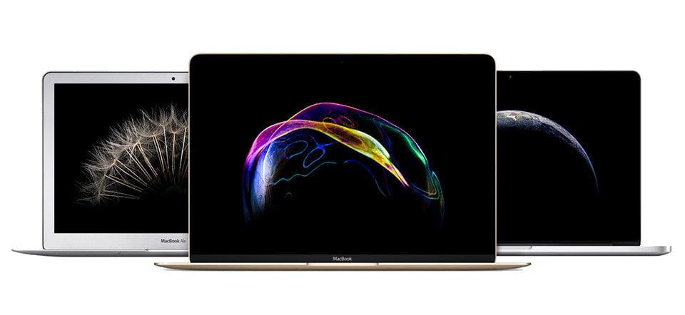 MacBook Air and MacBook Pro