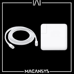 USB-C Power 96W Adapter and USB-C Charge Cable