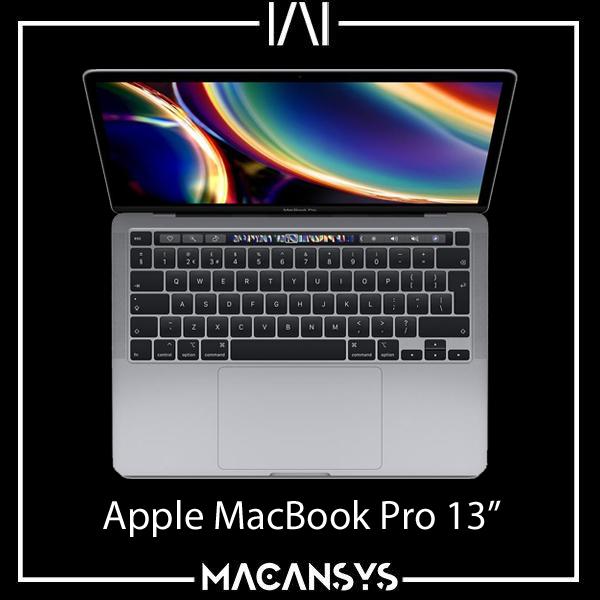 Apple MacBook Pro 13.3 Inch 2020 TouchBar 1.4 GHz i5 8GB 512 SSD MXK52B/A  Grey