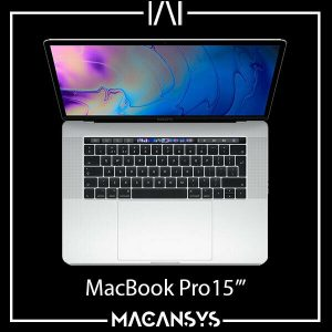 Apple MacBook Pro 154 inch 2018 Touch Bar 22 GHz 6 Core I7 16 GB 256 GB Silver 174124620111