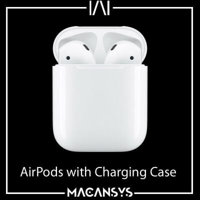 Apple AirPods 2 with Charging Case 2nd generation White MV7N2ZMA New Sealed 174308574613