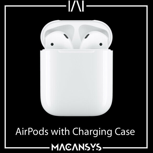 Apple AirPods 2 with Charging Case 2nd generation White MV7N2ZM/A New Sealed