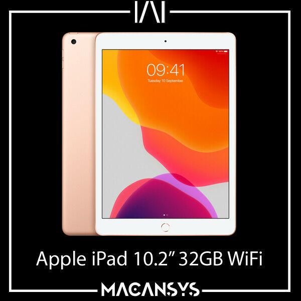 Apple iPad 10.2 inch 7th Generation 2019 32 GB Wi-Fi Gold MW762B/A