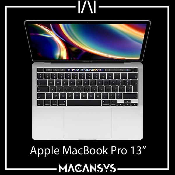 Apple MacBook Pro 13 Inch 2020 TouchBar 2.0 GHz Quad Core i5 16 GB 1 TB Silver