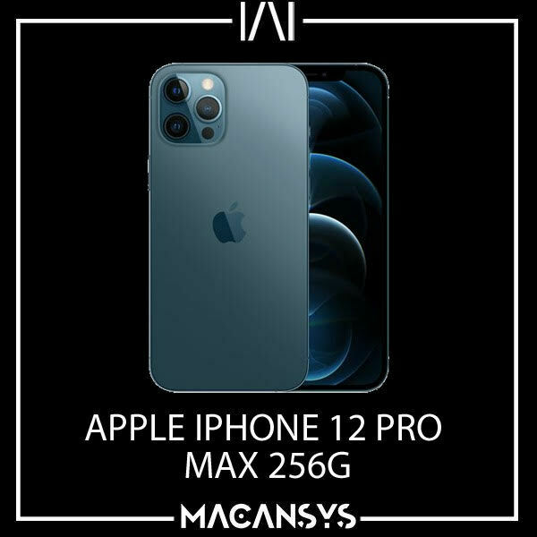 Apple iPhone 12 Pro Max 256GB Pacific Blue 6.7 Inch 5G SmartPhone New MGDF3B/A