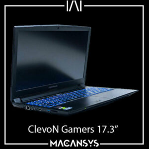 Gamers Laptop ClevoN 85 2017 2.8 GHz Core i7 7700HQ 32 GB 2TB 4 GB NVIDIA